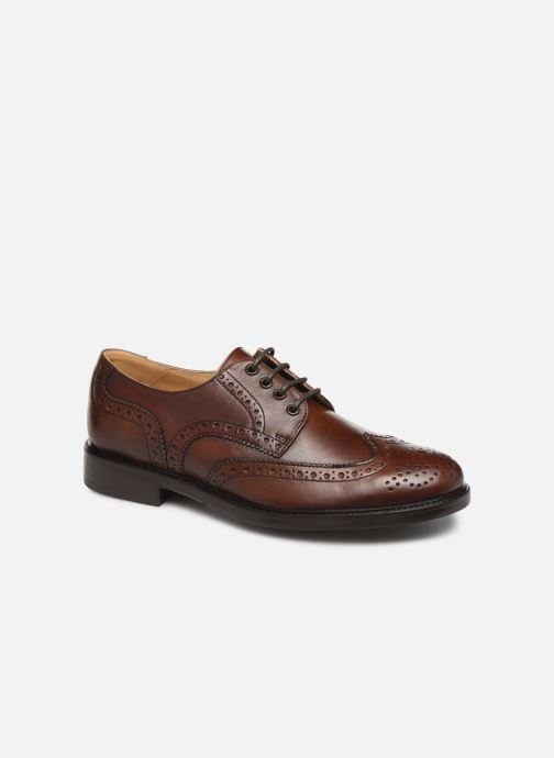 Chaussures à lacets Florsheim Morgan Marron vue détail/paire
