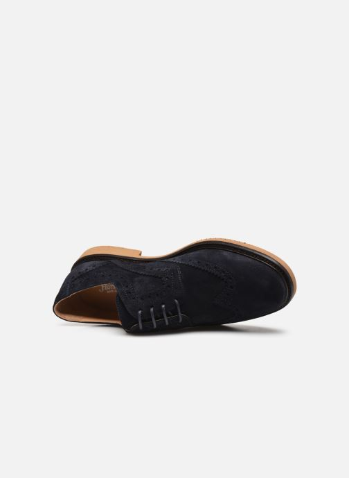 Chaussures à lacets Florsheim Morgan Bleu vue gauche