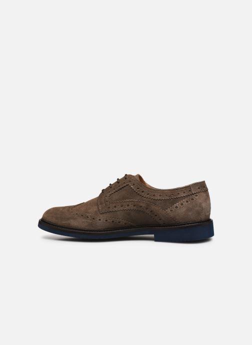 Chaussures à lacets Florsheim Morgan Beige vue face