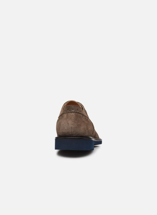 Chaussures à lacets Florsheim Morgan Beige vue droite