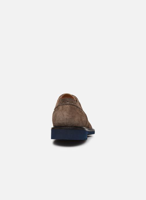 Zapatos con cordones Florsheim Morgan Beige vista lateral derecha