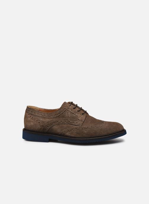 Zapatos con cordones Florsheim Morgan Beige vistra trasera