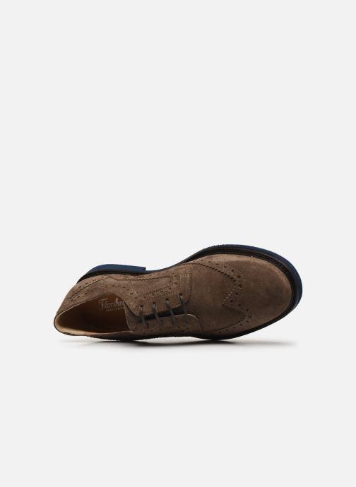 Zapatos con cordones Florsheim Morgan Beige vista lateral izquierda