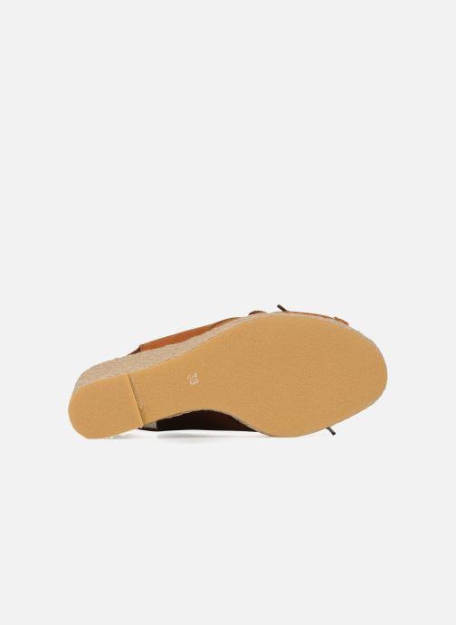 Sandales et nu-pieds Pare Gabia Climone Marron vue haut