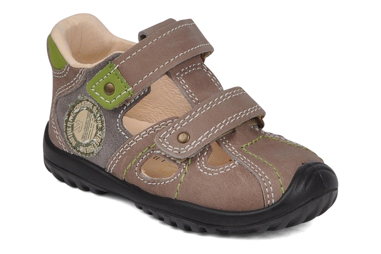 Sandales et nu-pieds Rose & Martin Rock Marron vue détail/paire