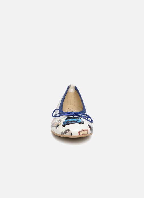 Ballerines Coco et abricot Donalia Multicolore vue portées chaussures