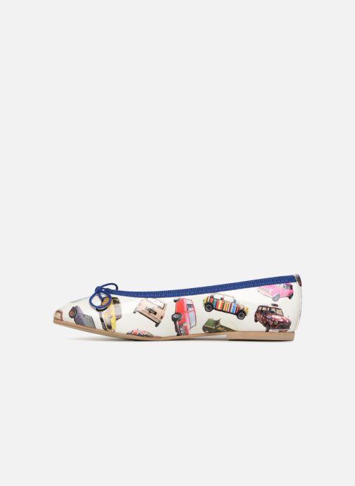 Ballet pumps Coco et abricot Donalia Multicolor front view