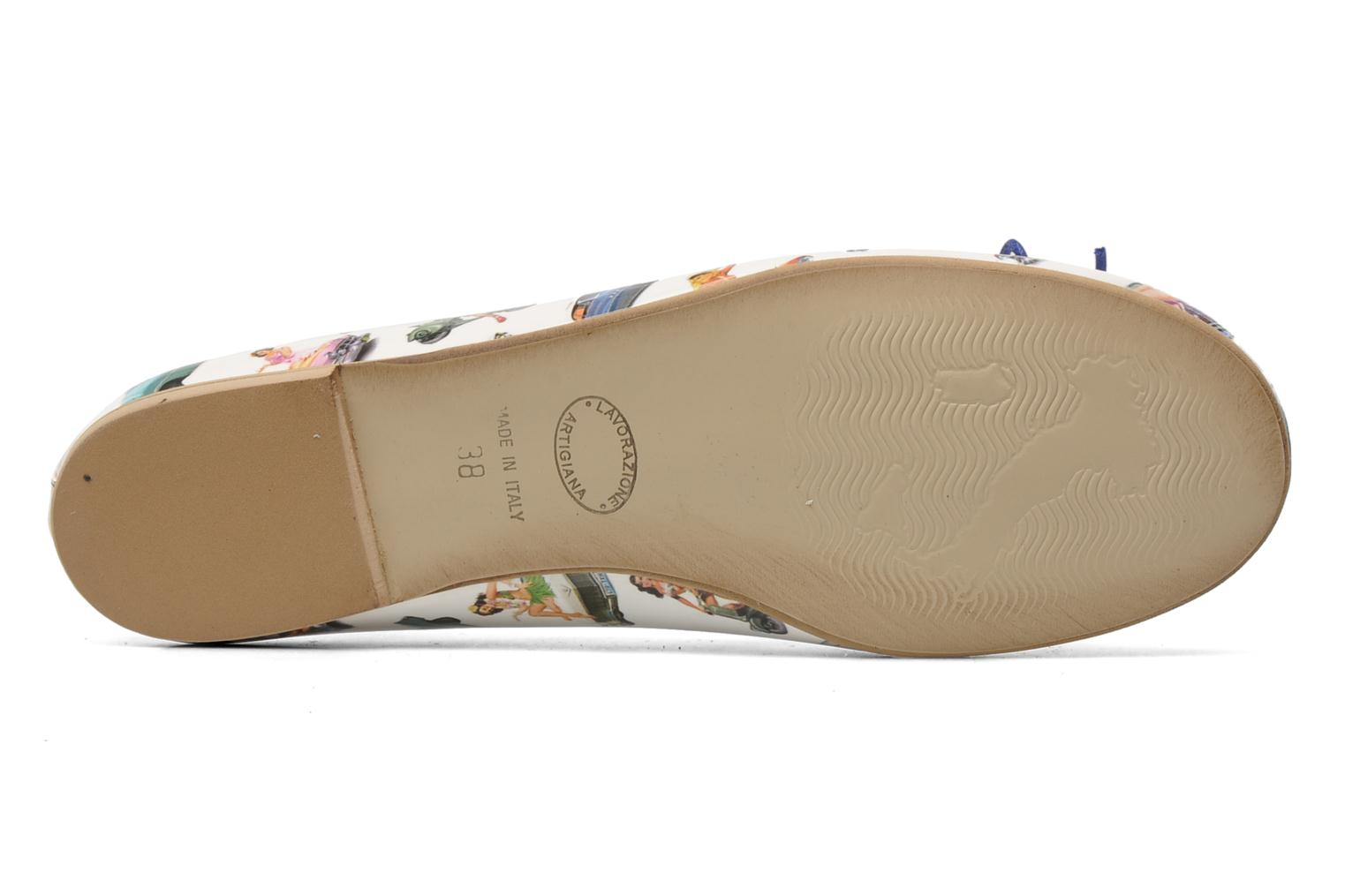 Ballet pumps Coco et abricot Donalia Multicolor view from above