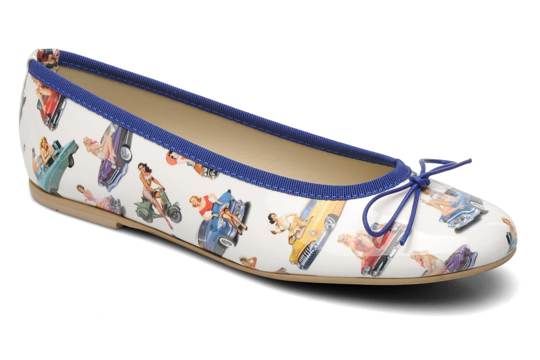 Bailarinas Coco et abricot Donalia Multicolor vista de detalle / par