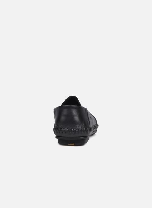 Loafers Fluchos Niza 612 Black view from the right
