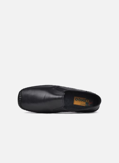 Loafers Fluchos Niza 612 Black view from the left
