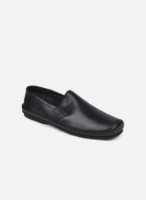 Loafers Fluchos Niza 612 Sort detaljeret billede af skoene