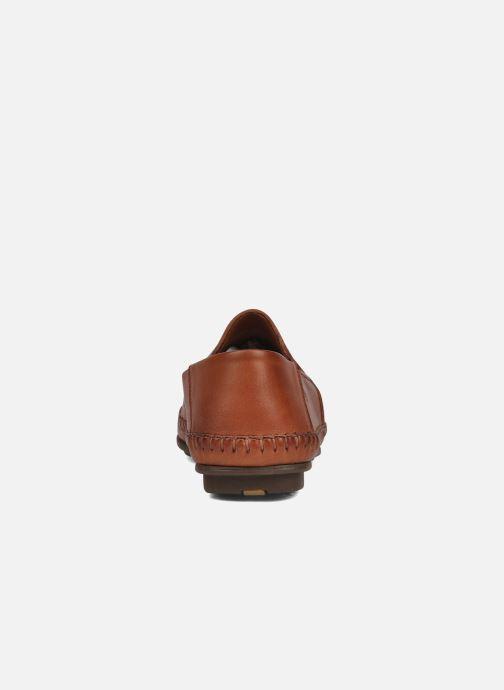 Loafers Fluchos Niza 612 Brun Se fra højre