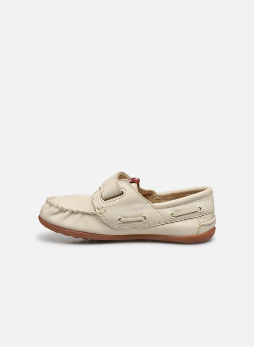Chaussures à scratch Camper Peu 80080 Beige vue face