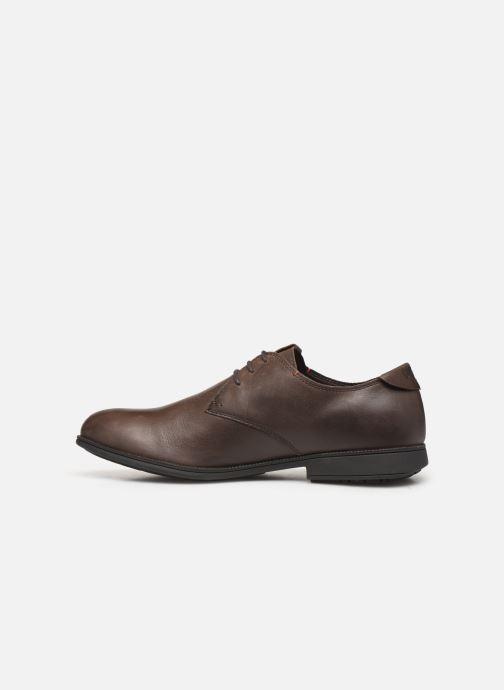 Chaussures à lacets Camper 1913 18552 Marron vue face