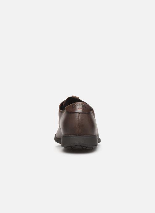 Chaussures à lacets Camper 1913 18552 Marron vue droite