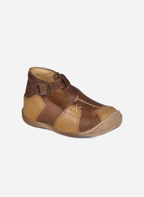 Sommersko GBB Logan Brun detaljeret billede af skoene