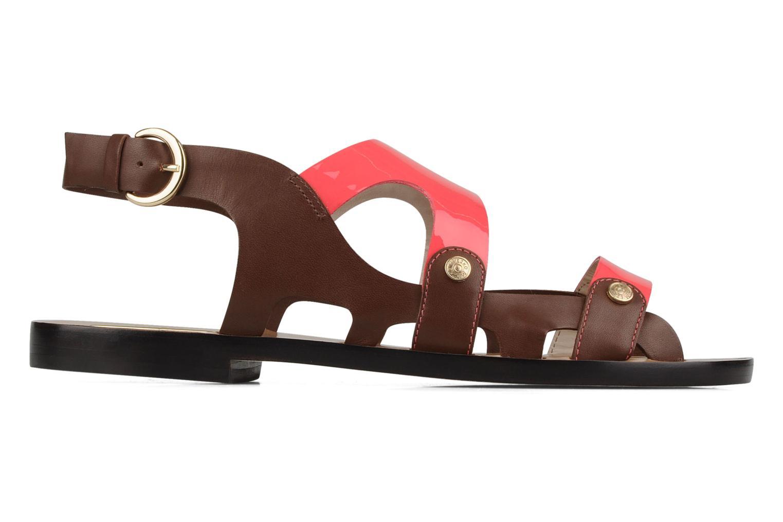 Sandales et nu-pieds Miezko Fluota Marron vue derrière