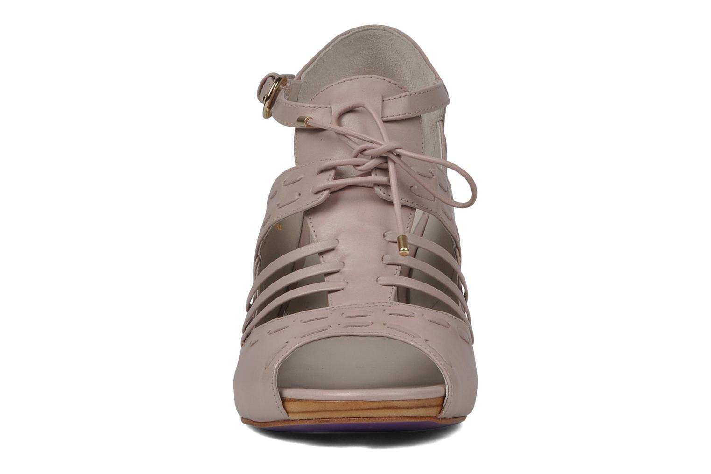 Sandales et nu-pieds Miezko Benka Rose vue portées chaussures