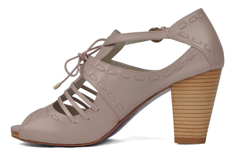 Sandales et nu-pieds Miezko Benka Rose vue face