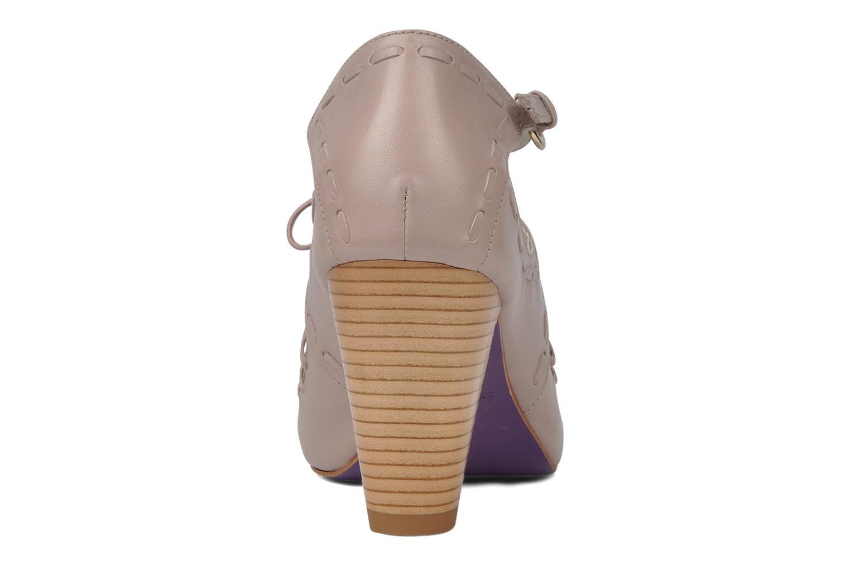 Sandales et nu-pieds Miezko Benka Rose vue droite