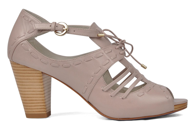 Sandales et nu-pieds Miezko Benka Rose vue derrière