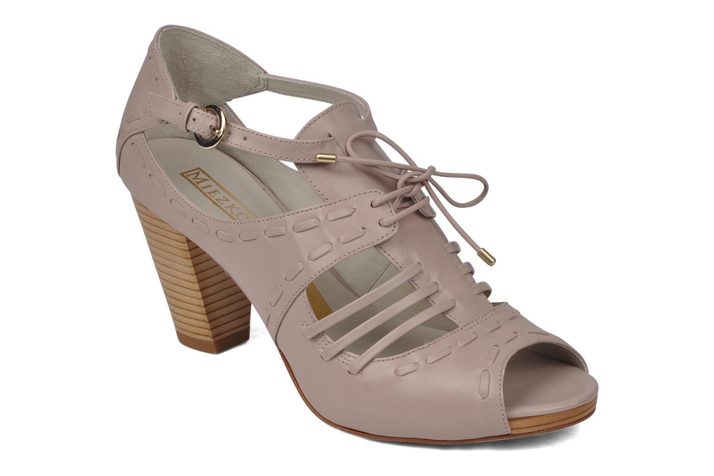 Sandales et nu-pieds Miezko Benka Rose vue détail/paire