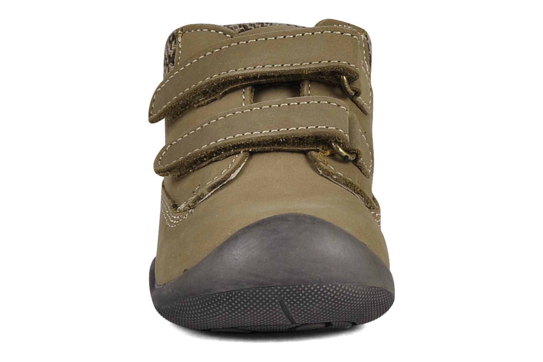 Chaussures à scratch Chicco Guapito Marron vue portées chaussures