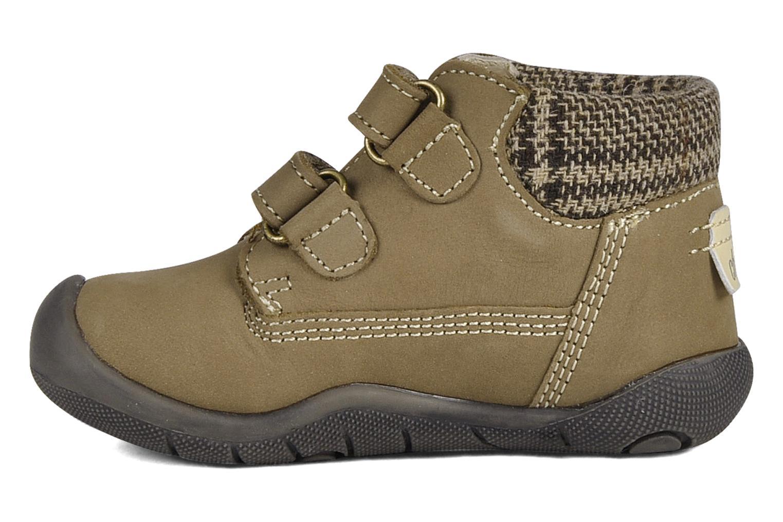 Chaussures à scratch Chicco Guapito Marron vue face
