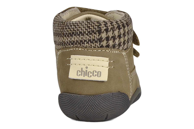 Chaussures à scratch Chicco Guapito Marron vue droite