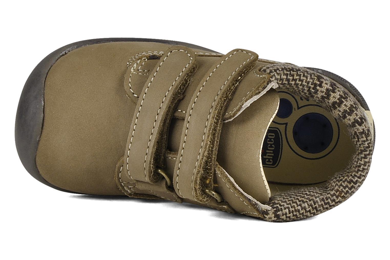 Chaussures à scratch Chicco Guapito Marron vue gauche