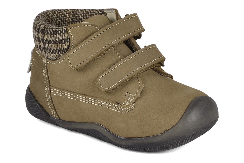 Chaussures à scratch Chicco Guapito Marron vue détail/paire