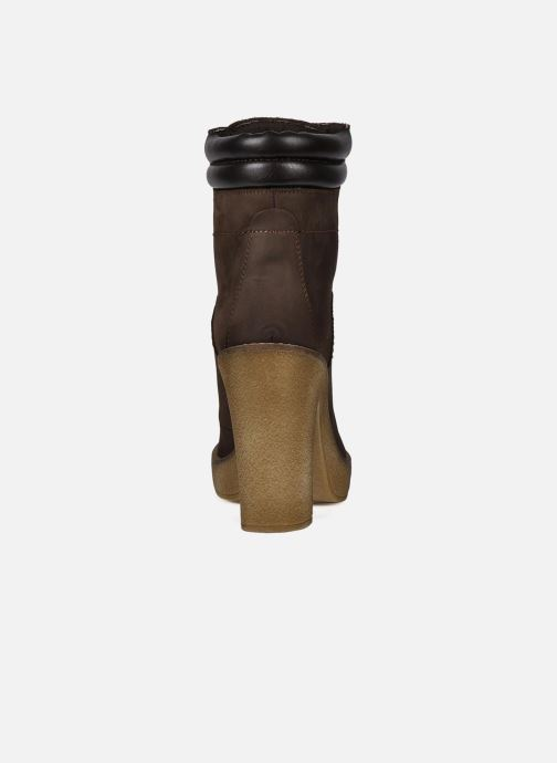 Ankle boots Jonak Galina Brown view from the right