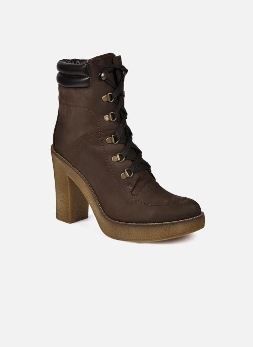 Ankle boots Jonak Galina Brown detailed view/ Pair view