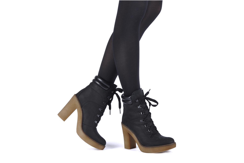 Bottines et boots Jonak Galina Noir vue bas / vue portée sac
