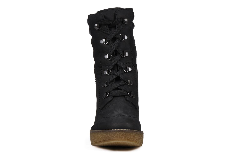 Bottines et boots Jonak Galina Noir vue portées chaussures