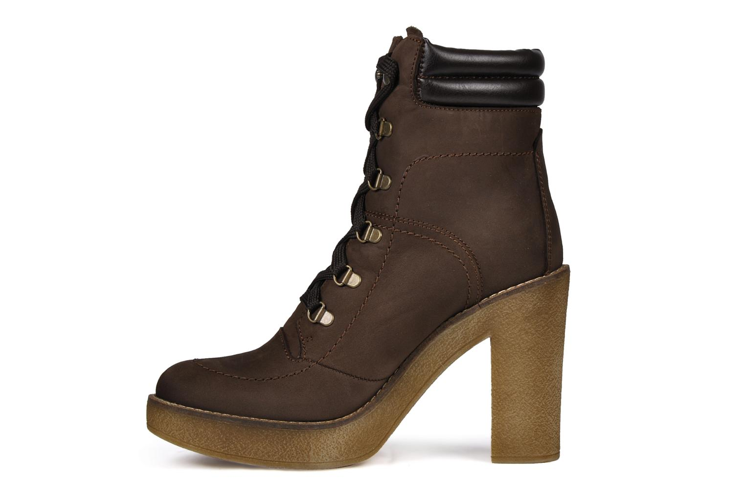 Ankle boots Jonak Galina Brown front view