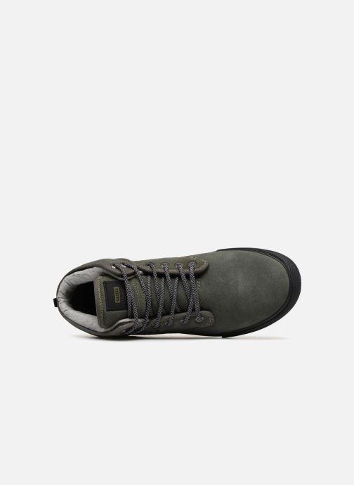 Chaussures de sport Globe Motley mid Vert vue gauche