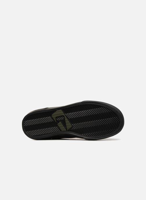 Chaussures de sport Globe Motley mid Vert vue haut