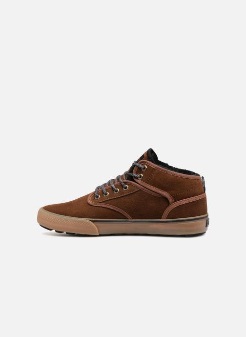Chaussures de sport Globe Motley mid Marron vue face