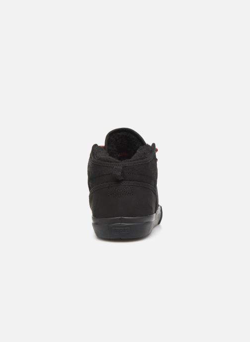 Sport shoes Globe Motley mid Black view from the right