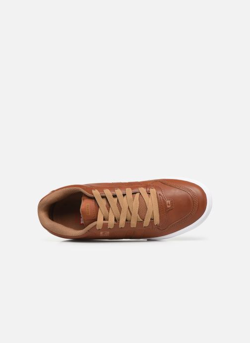 Sport shoes Globe Encore 2 Brown view from the left