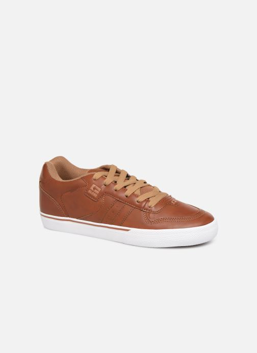 Sport shoes Globe Encore 2 Brown detailed view/ Pair view
