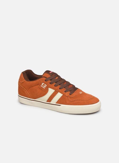 Chaussures de sport Globe Encore 2 Orange vue détail/paire
