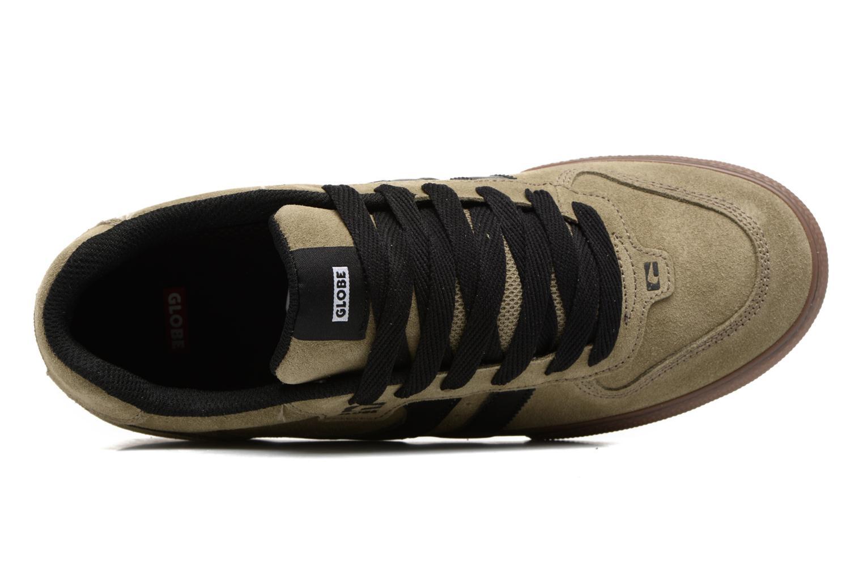 Chaussures de sport Globe Encore 2 Vert vue gauche