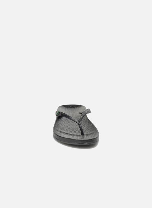 Zehensandalen Ipanema Anatomic brilliant iii f. schwarz schuhe getragen