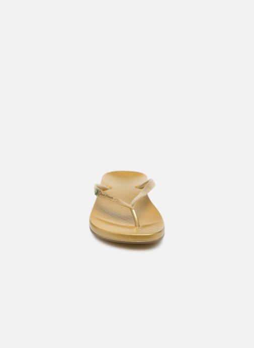 Zehensandalen Ipanema Anatomic brilliant iii f. gold/bronze schuhe getragen