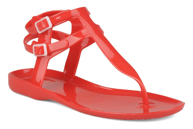 Sandales et nu-pieds Carvela Kink Rouge vue détail/paire