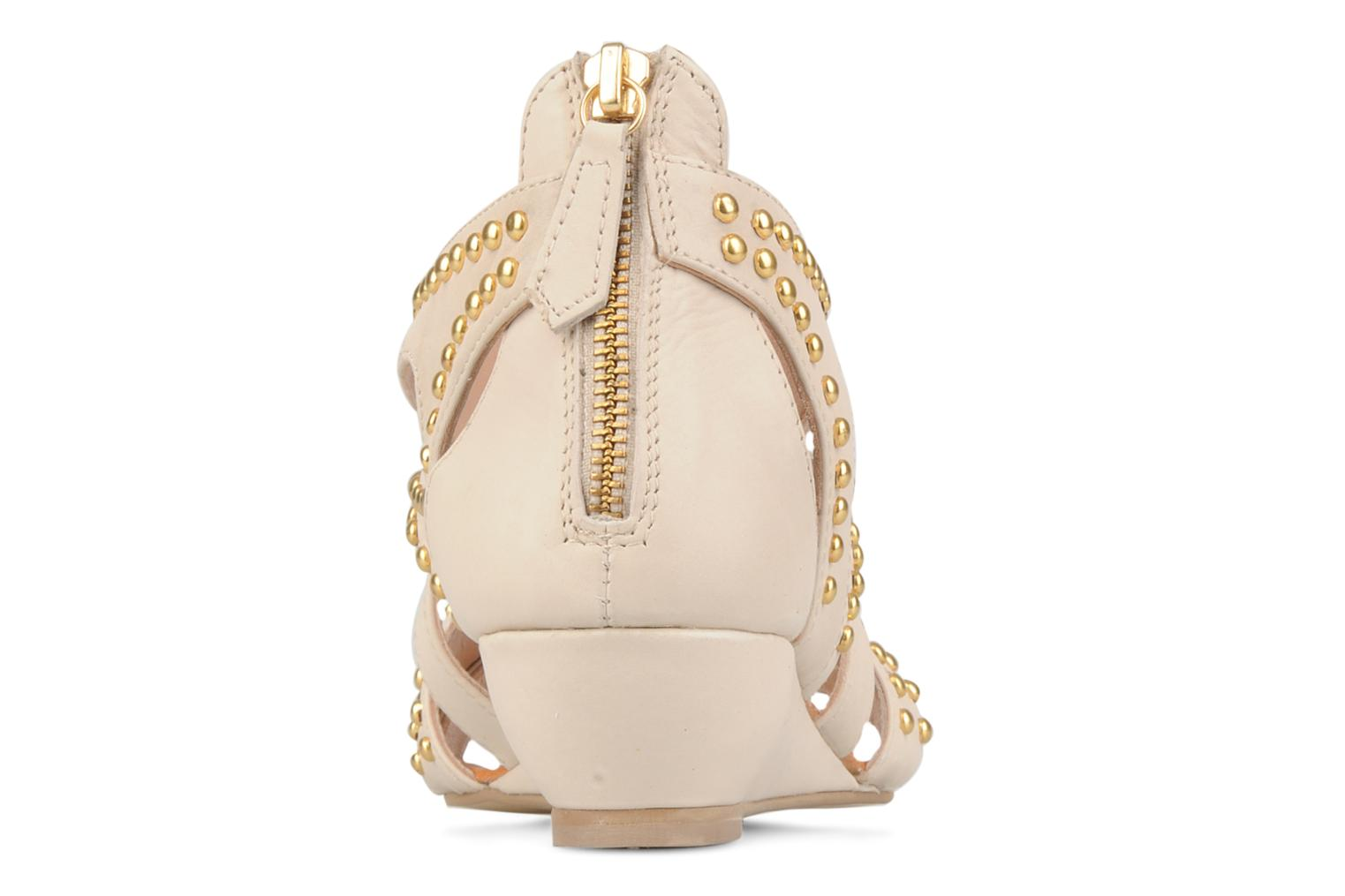 Sandals Carvela Kurly Beige view from the right
