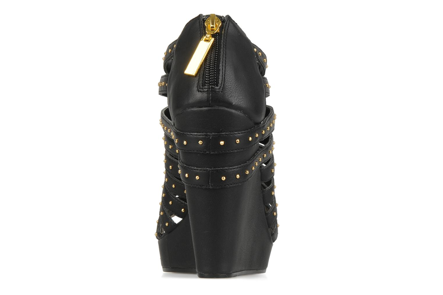 Sandals Carvela Animal Black view from the right